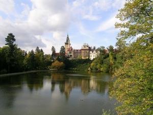 Pohled na zámek